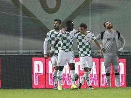 La victoria del Moreirense en la Copa de la Liga rompió todos los pronósticos. EFE/Archivo