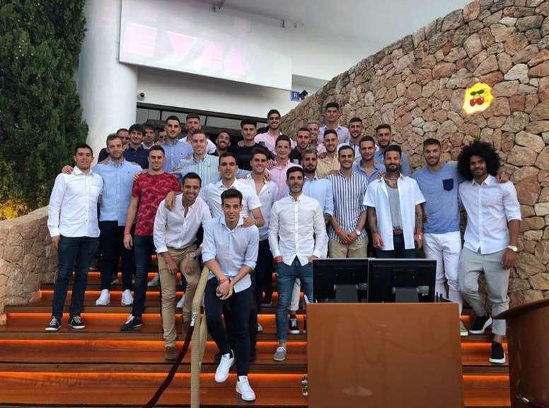Osasuna despidió la temporada en Ibiza. CAOsasuna