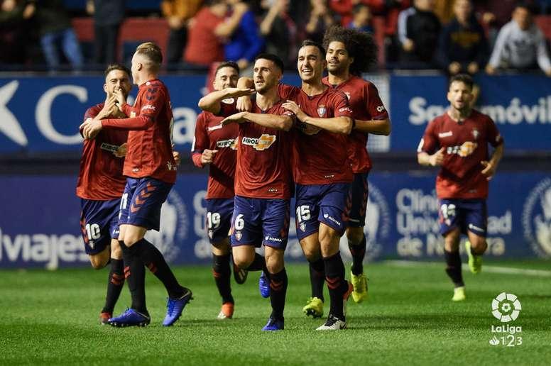 Osasuna se impuso al Alcorcón por 2-1 con remontada incluida. LaLiga