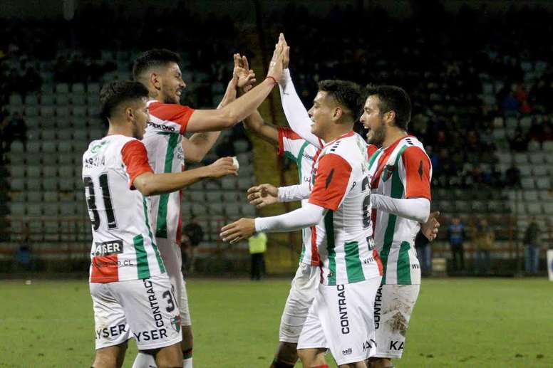 Palestino ganó 4-2 a Curicó Unido. Twitter/Palestino