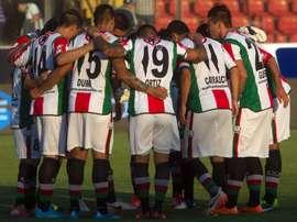 El Palestino espera no perder a uno de sus mejores jugadores. AFP