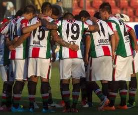 Palestino derrotó a Flamengo y avanza en la Copa Sudamericana. EFE