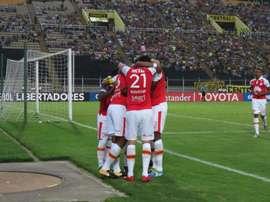Problemas para el equipo colombiano. SantaFe