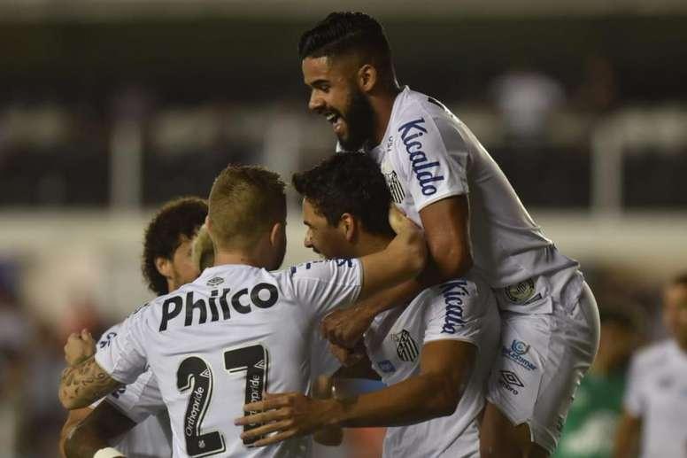 Santos asalta la segunda plaza. SantosFC