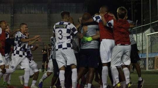 Chapecoense cae contra un Serie C. SaoJoseFutebol