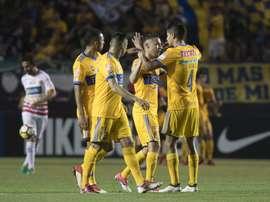 Tigres ganó con comodidad a Herediano. EFE