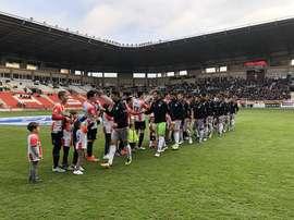 La UD Logroñés saca seis puntos al segundo. Twitter/UDLogrones