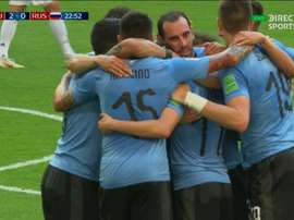 Russia gave away an own-goal. DIRECTVSport