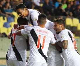 Vasco de Gama se llevó el triunfo por 4-1. VascodaGama