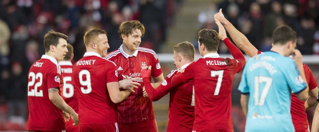 Aberdeen came from behind to secure the win. AFC