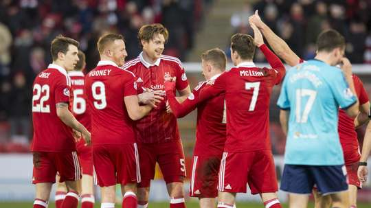 Aberdeen finished runners-up in the SPL last season. AFC