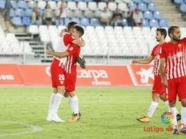 El Almería se enfrentará al Cádiz en la próxima jornada. LaLiga