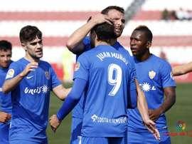 El Almería ha evitado el descenso en la última jornada. LaLiga
