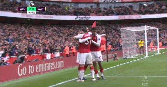 Arsenal volvió al triunfo en la liga inglesa ante Watford