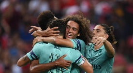 Arsenal came out victorious in the International Challenge Cup match versus PSG. Twitter/Arsenal