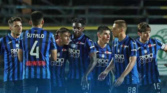 Atalanta sobe para a segunda posição na tabela. Twitter/Atalanta_BC