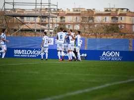 Un gol y tres puntos de oro: nadie gana en el Estadi Balear. @atleticbalears