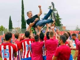 El Atlético cuida su cantera. AtleticoDeMadrid/AlbertoMolina