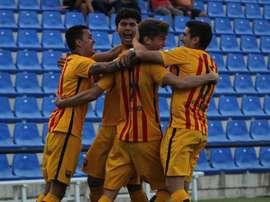 El Barça trata de reforzar su plantilla. FCBMasia