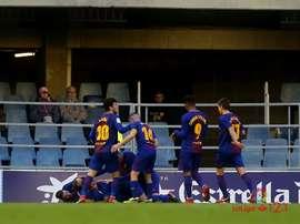 Malagón elogió al filial del Barcelona. LaLiga