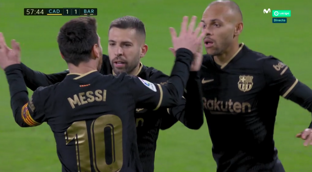 Entre Alba y Alcalá empataron para el Barcelona