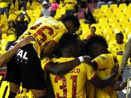 Barcelona sufre para volver a ganar. BarcelonaSC