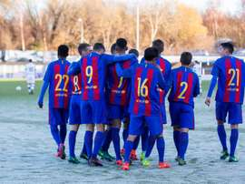 El Barça ficha un portero del Levante. FCBMasia