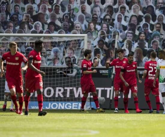Confira como foi os primeiros quatro jogos da 27ª rodada da Bundesliga. Twitter/bayer04fussball