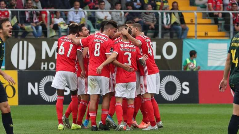 Benfica got the job done against Tondela to go joint top with Porto. SLBenfica