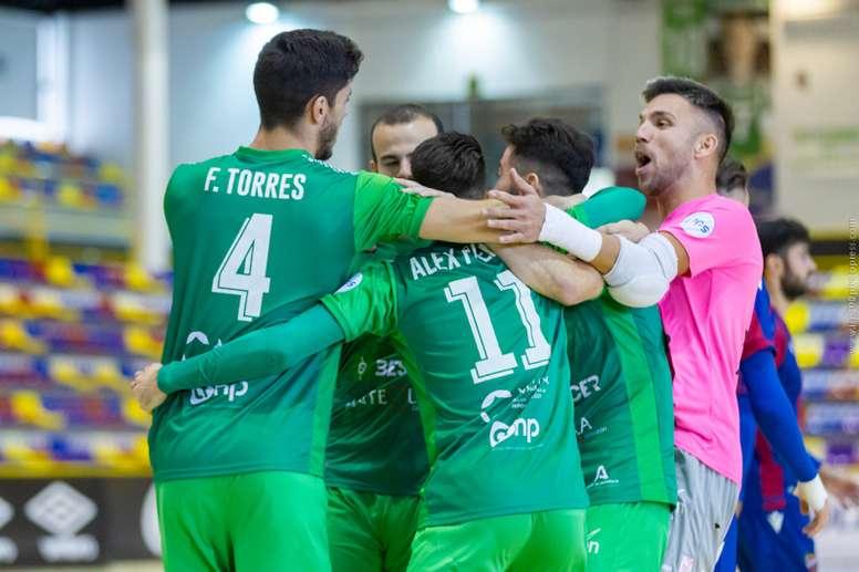 El Palma Futsal, rival del BeSoccer CD UMA Antequera en Copa. BeSoccerCDUMAAntequera