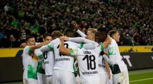 La précieuse victoire du Borussia Monchengladbach. Twitter/Borussia_es