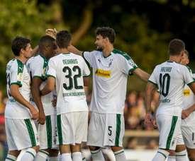 El 'Gladbach no tuvo piedad de un Quinta División. Borussia