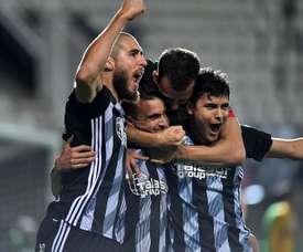 El Cartagena volvió a ganar tras caer ante el Real Murcia. Twitter/FCCartagena_es