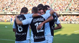 El Castellón hace historia. Twitter/CD_Castellon