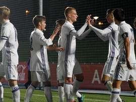 El Castilla hizo sus deberes ante la Real Sociedad B. RealMadridCF
