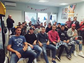 El CD Ebro, motivado por enfrentarse al Valencia en Copa. Twitter/CDEbro