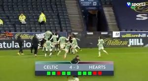 El Celtic sufre ante un Segunda para llevarse la Copa. Captura/Sport2