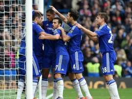 El Chelsea consiguió la victoria en casa ante el Aston Villa. ChelseaFC