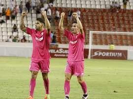 El Córdoba se llevó el encuentro ante el Albacete de forma cómoda. CórdobaCF