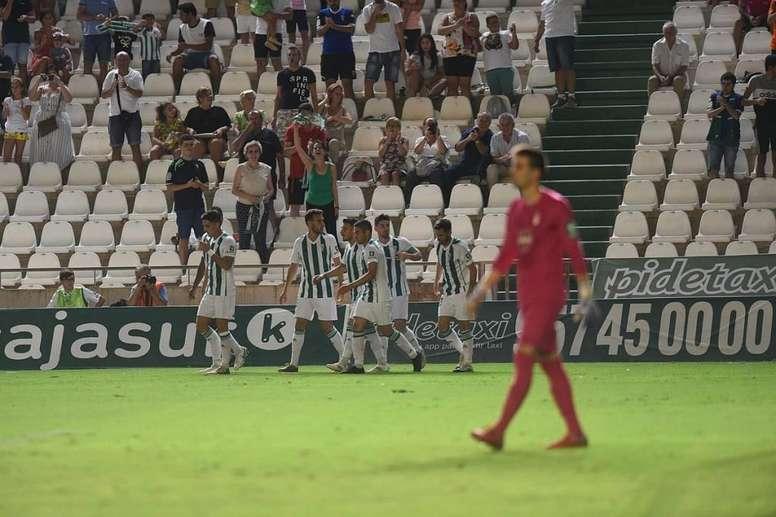 El Córdoba corrigió el rumbo a tiempo. Twitter/CórdobaCFSad