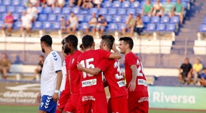 El Córdoba ganó por 0-2. Twitter/Cordobacfsad