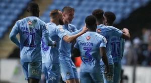 Coventry City will play at Birmingham City next season. Twitter/CoventryCity
