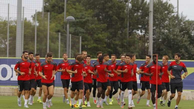 Los jugadores del Espanyol preparan su pretemporada. RCDEspanyol