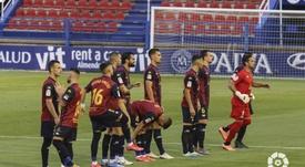 El Extremadura quiere una Liga de 22 o de 26, por coherencia. LaLiga/Archivo