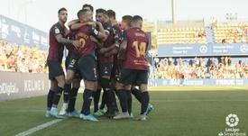 El Extremadura consiguió su primer triunfo. LaLiga