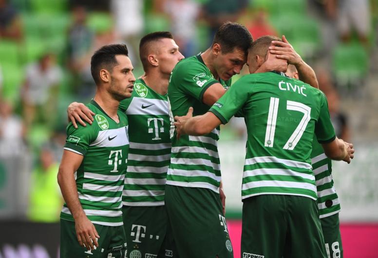 El Ferencvaros ganó menos apuros de los que el marcador insinuó. Ferencvaros