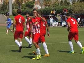El Almería B ya es equipo de Segunda B. UDAlmería