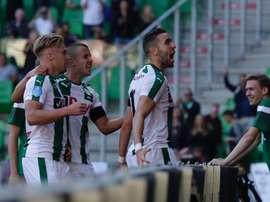 El Groningen firmó la goleada del día, al meterle 16 al Eemsmond. FCGroningen