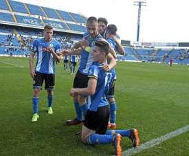 El Hércules ha empezado la temporada con victoria. Twitter/CFHercules