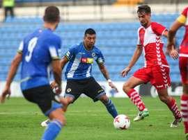 El Hércules no pudo pasar del empate en su visita a Sabadell. CFHercules